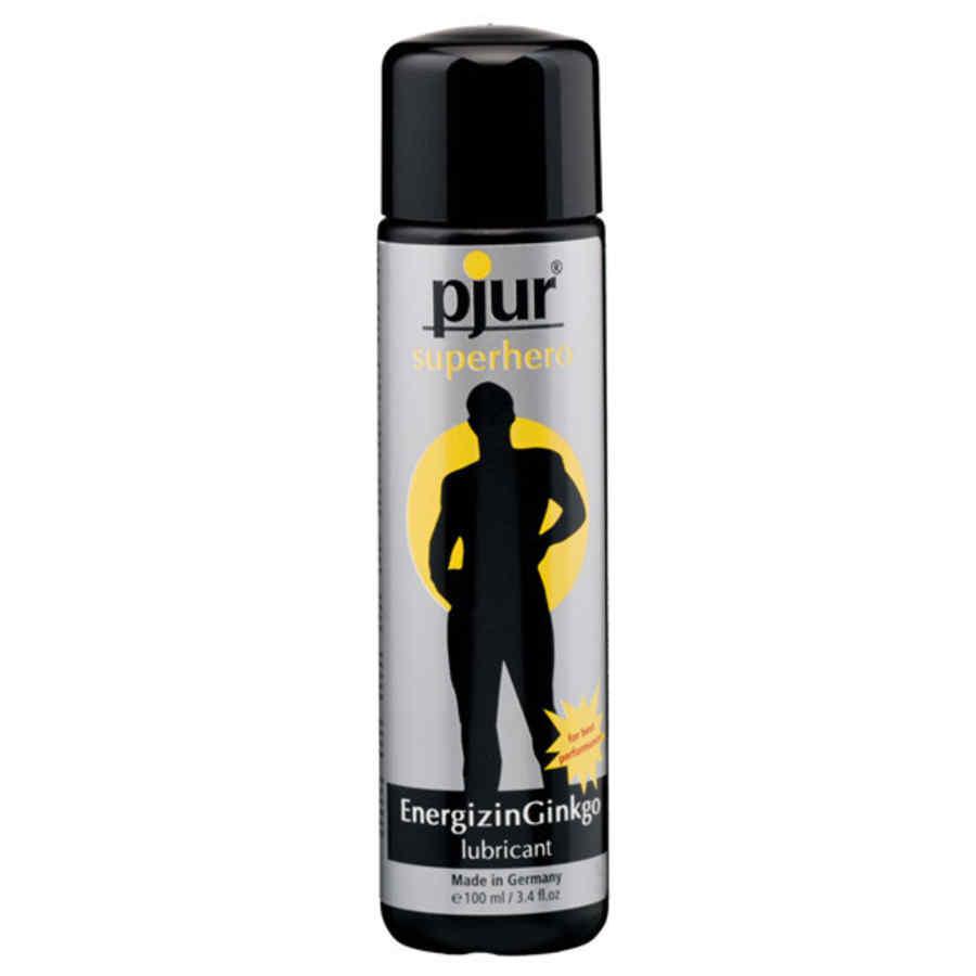 Pjur - Superhero Energizing Ginkgo Lubricant 100 ml - lubrikační gel na vodní bázi