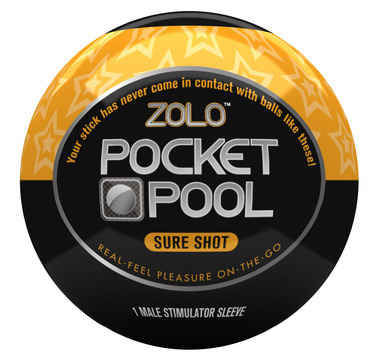 Náhled produktu Zolo - Pocket Pool Sure Shot - masturbátor