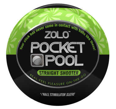 Náhled produktu Zolo - Pocket Pool Straight Shooter - masturbátor
